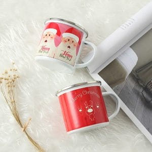 BH. Enamel Mug Wholesale Merry Christmas