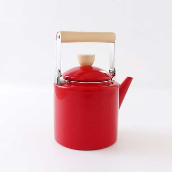 AG. Enamel Kettle Water Straight Teapot