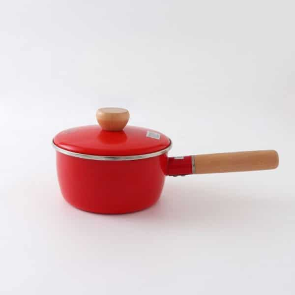small enamel roasting pan with lid