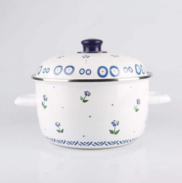 enamel pot