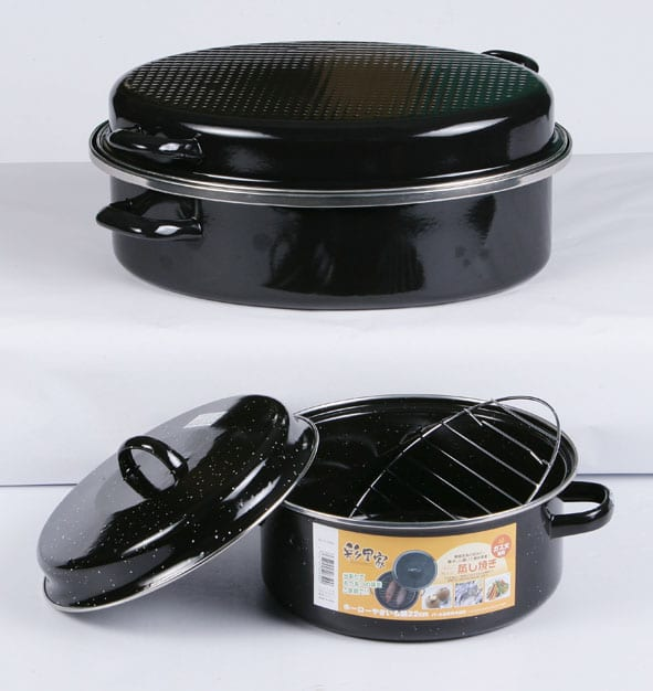 Enamel Roaster Pot