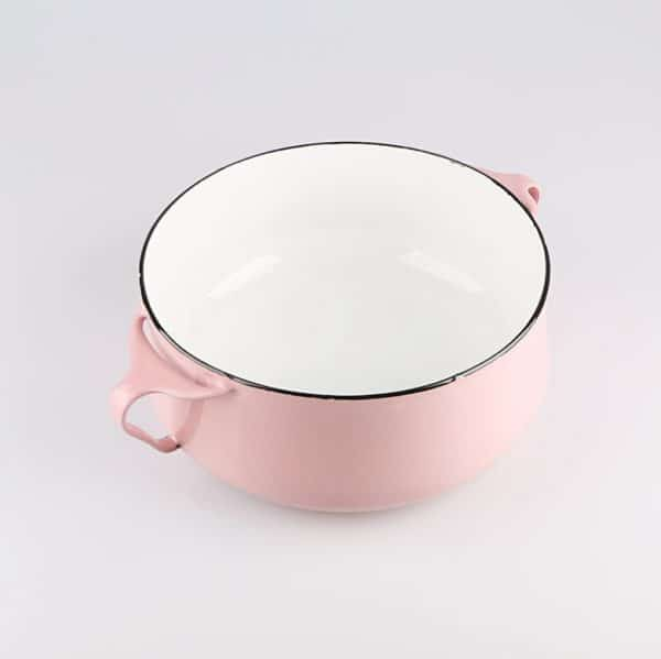 CC. Enamel Casserole Breakfast Porridge Pot
