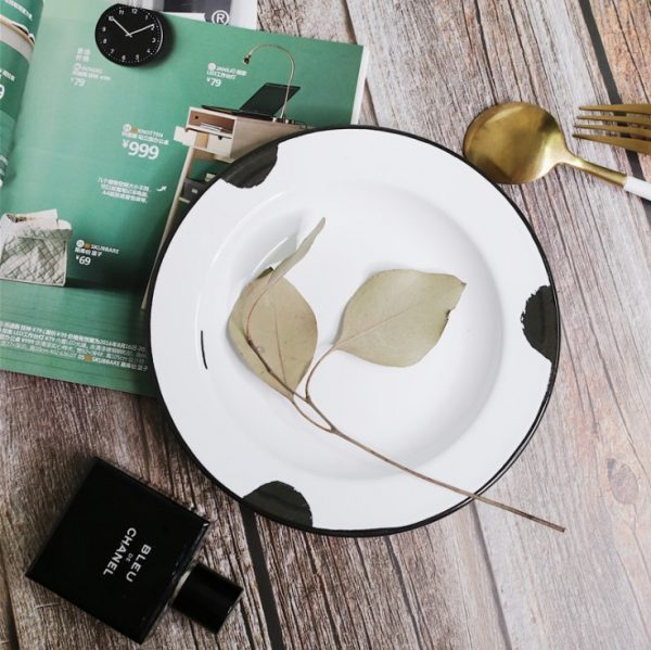 enamelware camping dishes