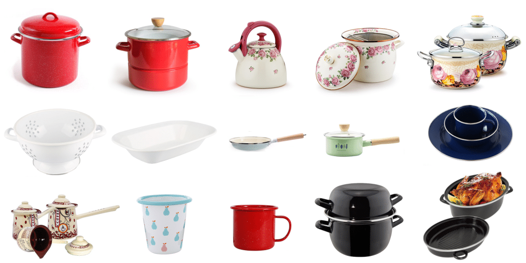 Why Do We Like Enamelware ?