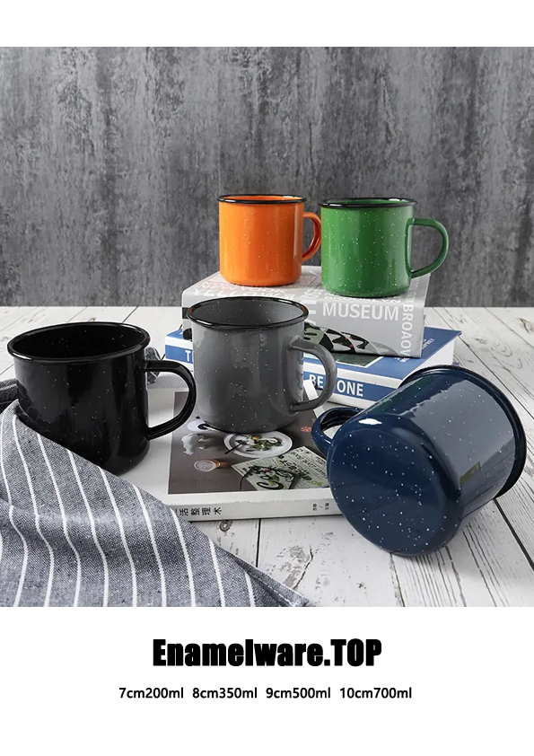 Best Camping Coffee Tea Enamel Cup Manufacturer China